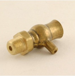 Traditional Air Vent for Cast Iron Radiators 3/8 inch BSP - Brass