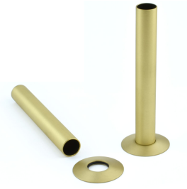 Pipe Sleeve Kit 130mm - Brass, Brushed