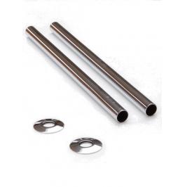 Pipe Sleeve Kit 300mm - Chrome, Polished