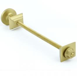 Cast Iron Radiator Luxury Wall Stay - Brushed Brass