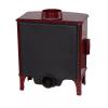 Carron ECO Stove 5kW SE - Red Enamel