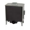 Carron ECO Stove 5kW SE - Sage Green Enamel