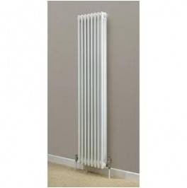 Cornel Vertical 2-Column Radiator, 1800H x 339mm