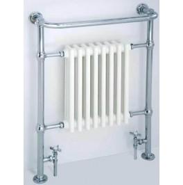 Lambeth Traditional Floor Mounted Towel Rail