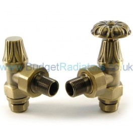 Abbey Manual Valve Set - Old English Brass