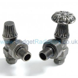 Abbey Manual Valve Set - Pewter