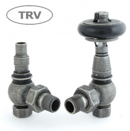 Amberley Thermostatic Valve Set - Pewter