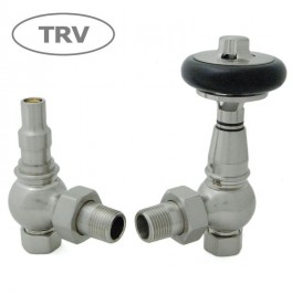Amberley Thermostatic Valve Set - Satin Nickel