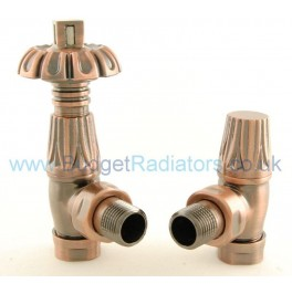 Balmoral Thermostatic Valve Set - Antique Copper