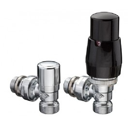 Greenwich Angled Thermostatic Valve Set