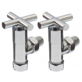 Livingstone Manual Chrome Angled Valve
