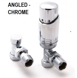 Modal Thermostatic Valve Set - Chrome