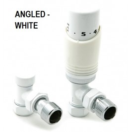 Modal Thermostatic Valve Set - White